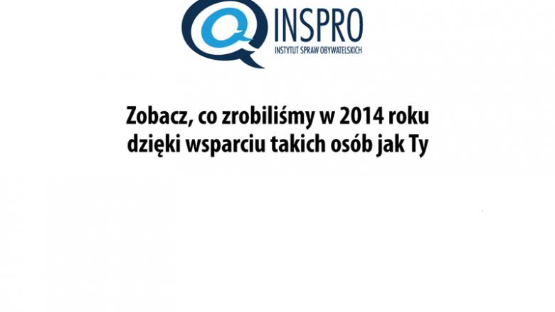 Sukcesy INSPRO 2014