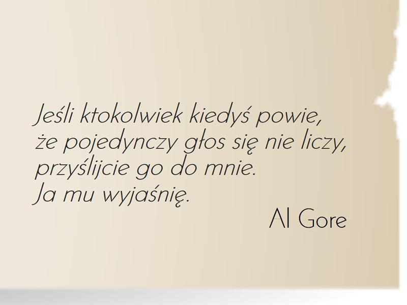 cytat Al Gore