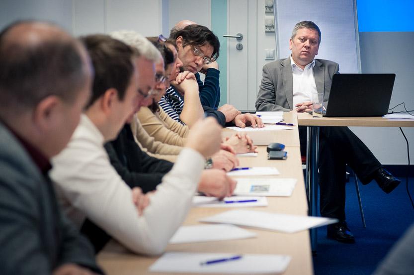 Spotkanie konsultacyjnego dla rad pracowników