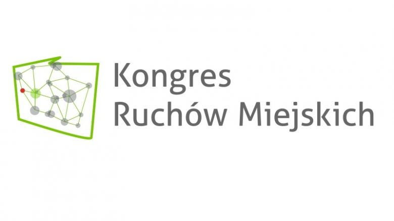 Kongres Ruchów Miejskich logo z napisem
