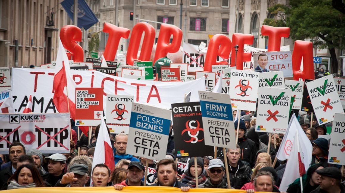 Stop CETA Stop TTIP Stop TiSA