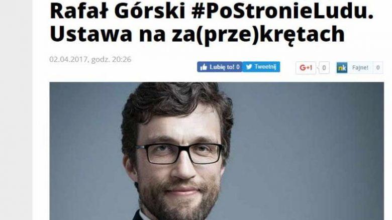 Rafał Górski w se.pl