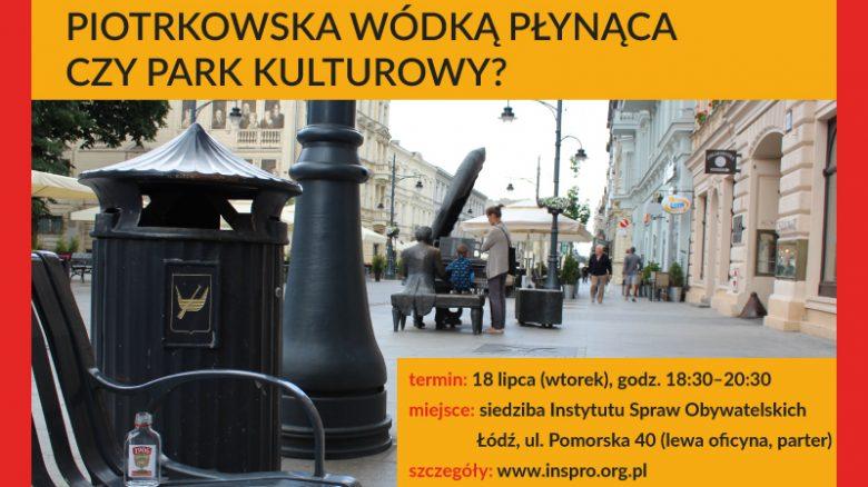 ŁD debaty grafika piotrkowska