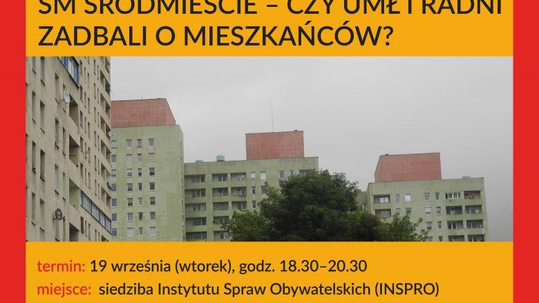 ŁD debaty grafika śródmieście