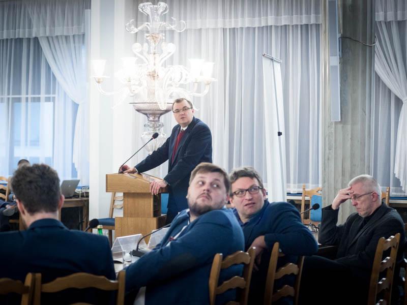 Konferencja natemat polityki antysmogowej 2017.12.01. Sejm RP. © Piotr Skubisz