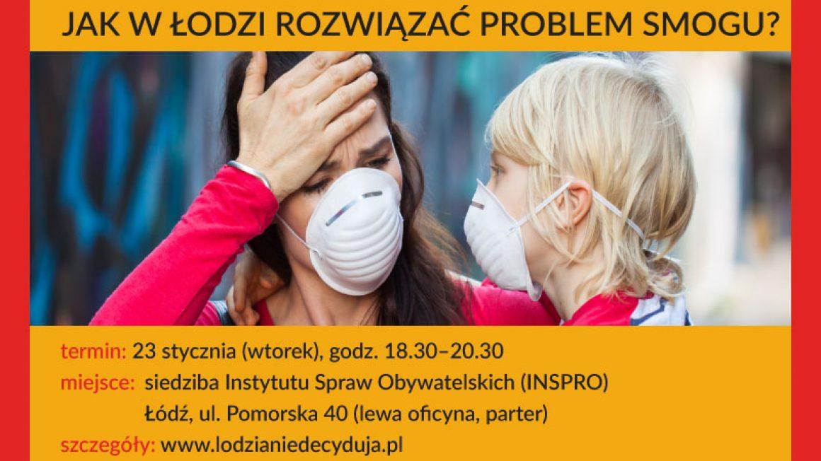 debata ŁD: smog