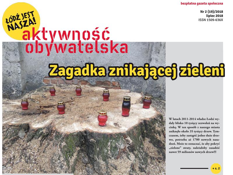 Okładka Aktywności Obywatelskiej 2/2018