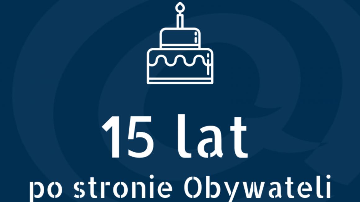 15 urodziny
