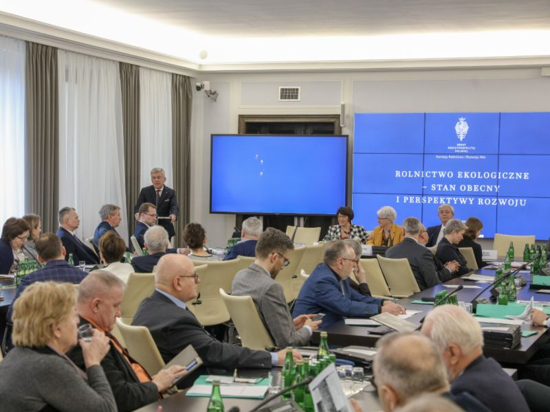 Konferencja w Senacie - żywność ekologiczna