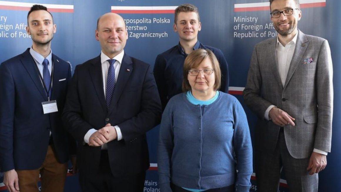 Spotkanie w MSZ - RODM