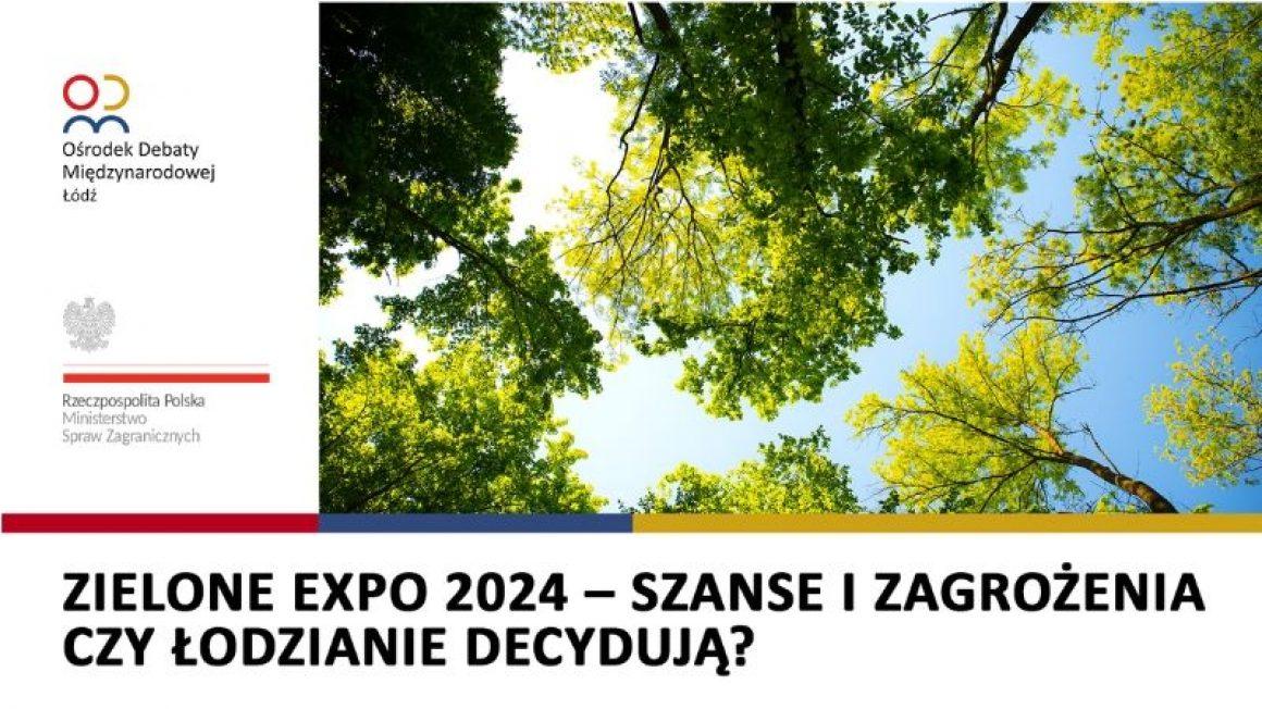 Debata o EXPO w Łodzi