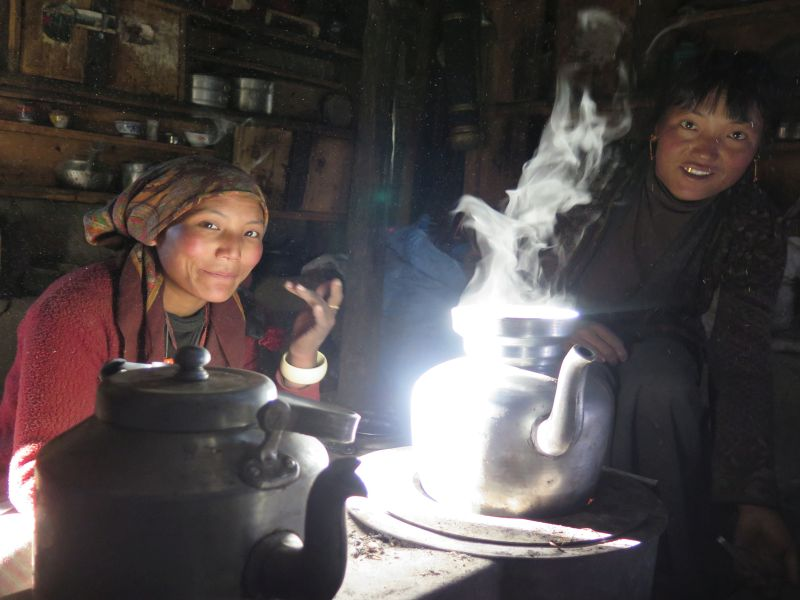 Ludzie Himalaje