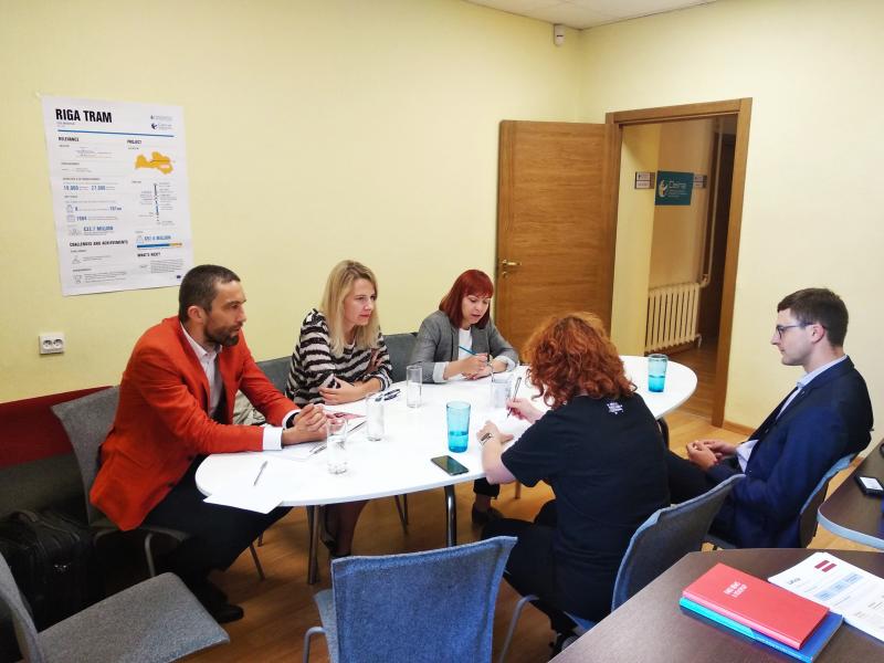 spotkanie w organizacji Delna w Rydze