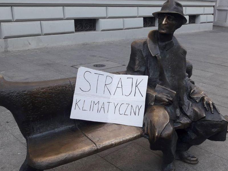 Ławeczka Tuwima Łódź