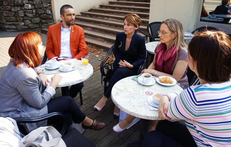 spotkanie z łotweskimi parlamentarzystkami