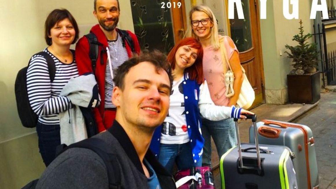 Zespół Instytutu na wizycie studyjnej w Rydze