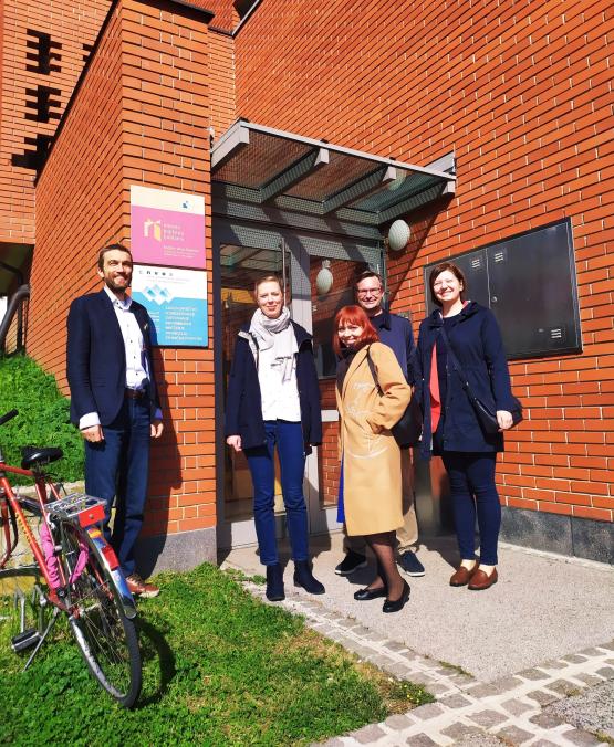 Lublana - spotkanie zprzedstawicielem organizacji INEPA