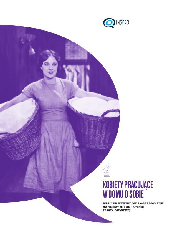 Kobiety pracujące w domu o sobie – okładka