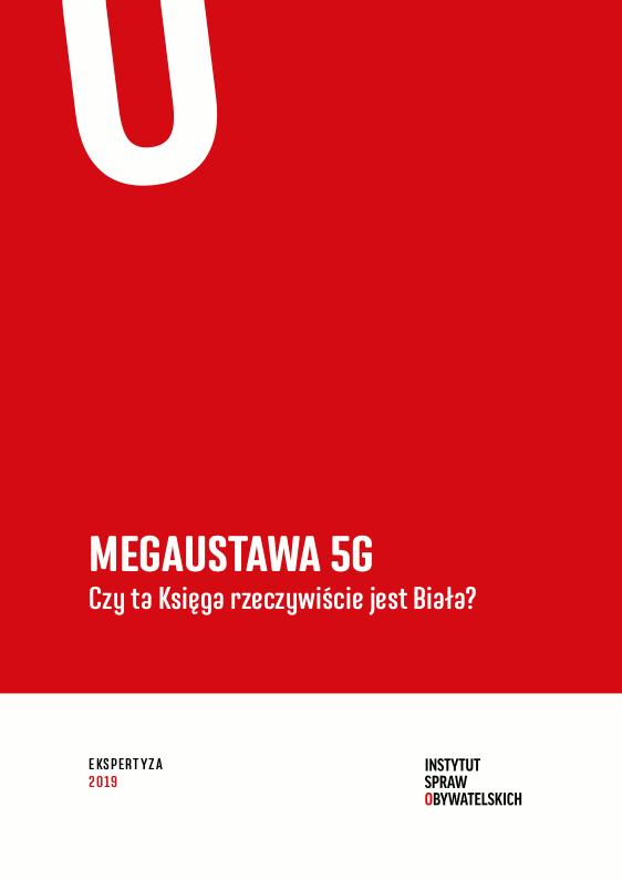 Megaustawa 5G – Czyta Księga rzeczywiście jest Biała? – okładka