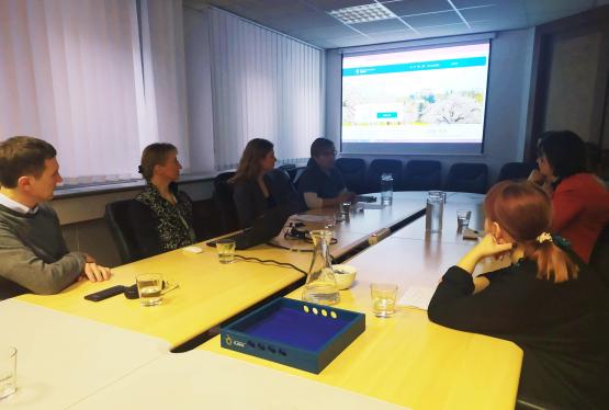 Lublana - spotkanie z przedstawicielami ministerstwa słoweńskiego