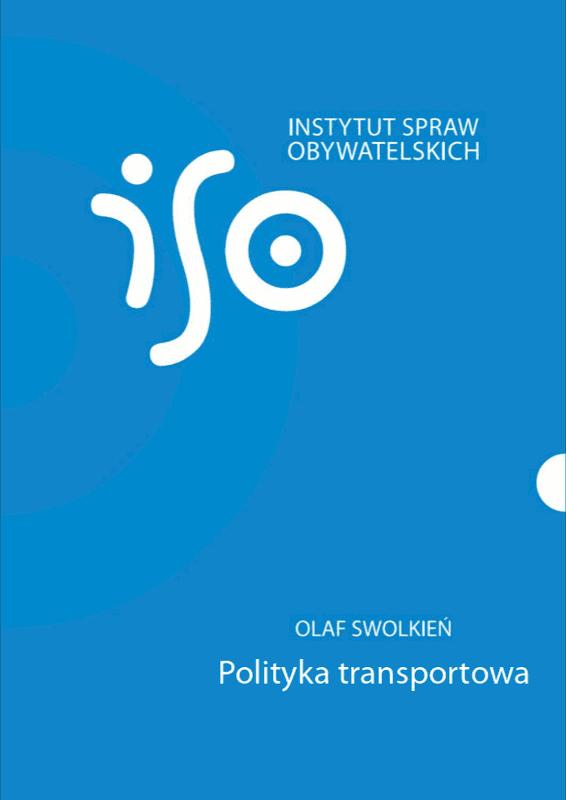 Polityka transportowa – okładka