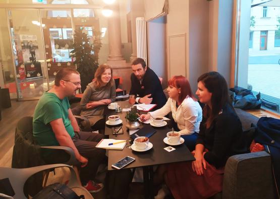 Lublana - spotkanie zprzedstawicielem portalu odemokracji