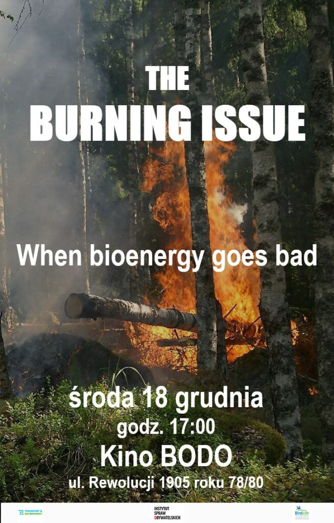 Plakat Burning Issue