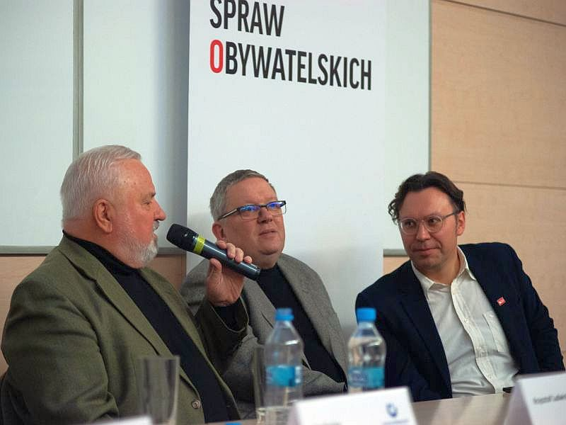 Krzysztof Ludwiniak, Piotr Ciompa, Rafał Woś
