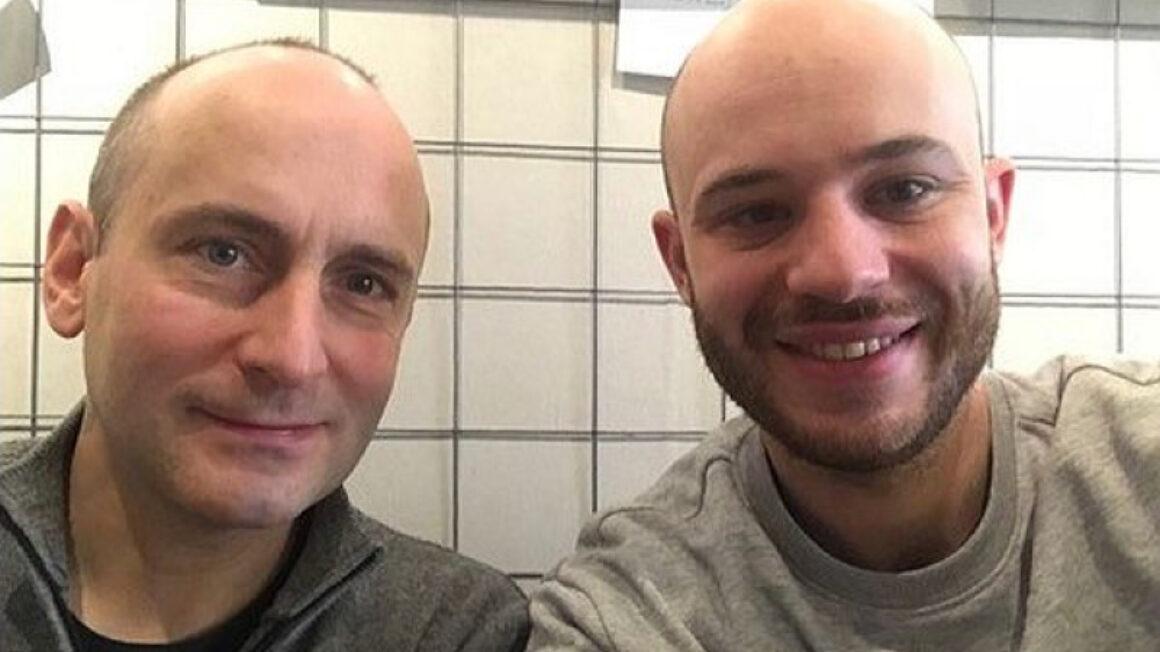 Krzysztof Korzempa i Jan Śpiewak