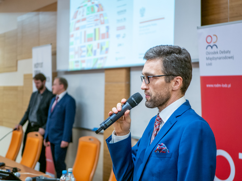 Rafał Górski na I Forum Geopolitycznym