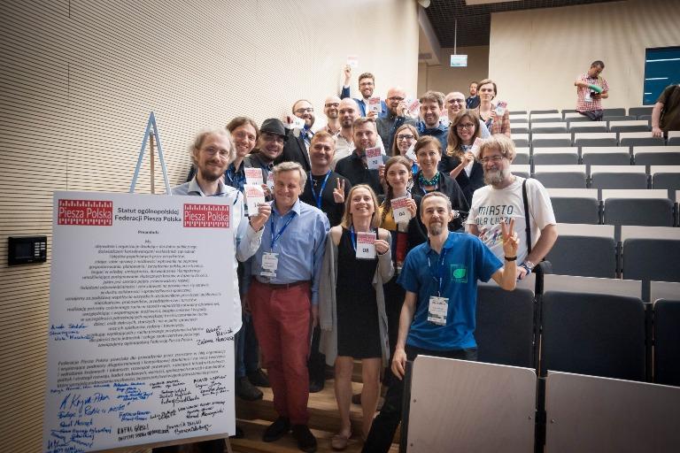 Członkowie Federacji Piesza Polska zestatutem nowej organizacji