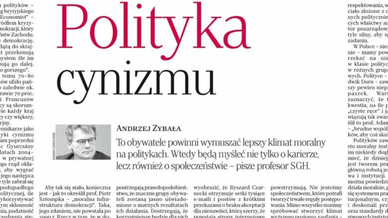 polityka cynizmu