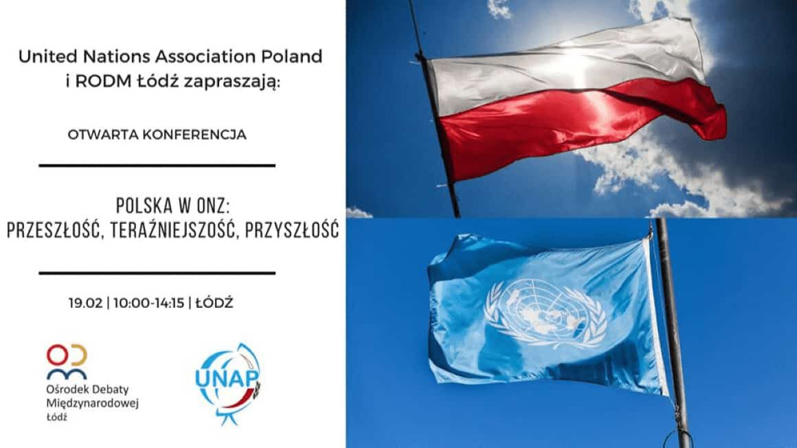 Konferencja UNAP i RODM Łódź