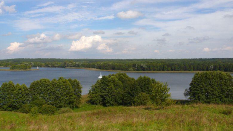 ezioro Tałty - okolice Rynu