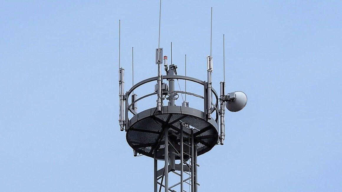 wieża transmisyjna
