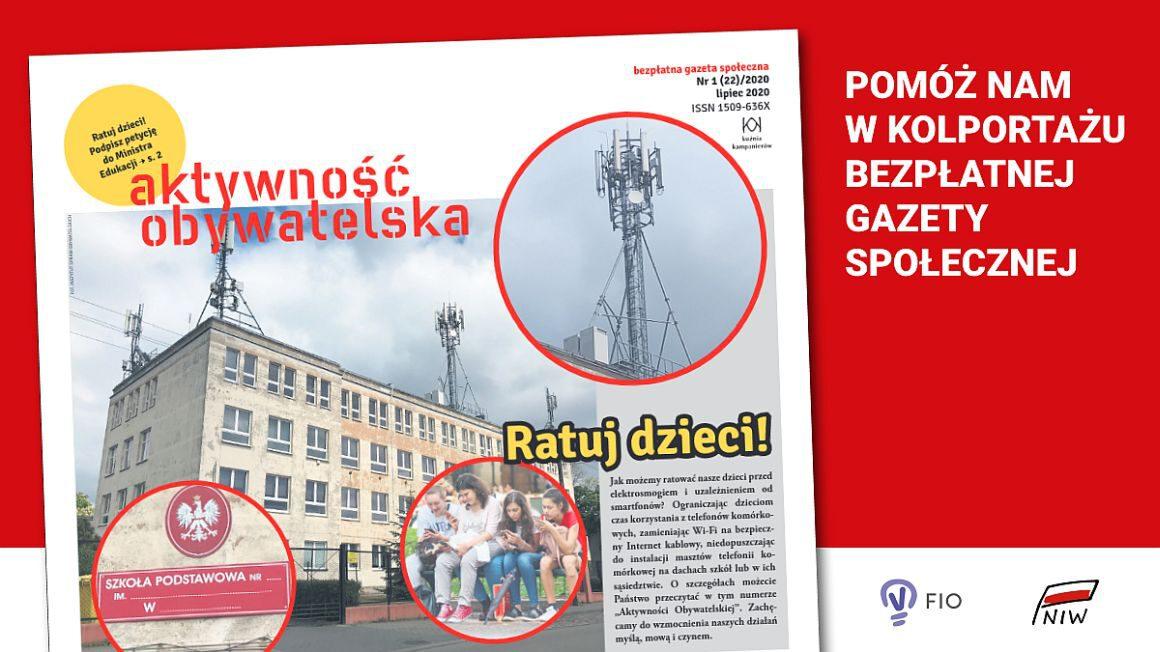 Aktywność Obywatelska bezpłatna gazeta społeczna