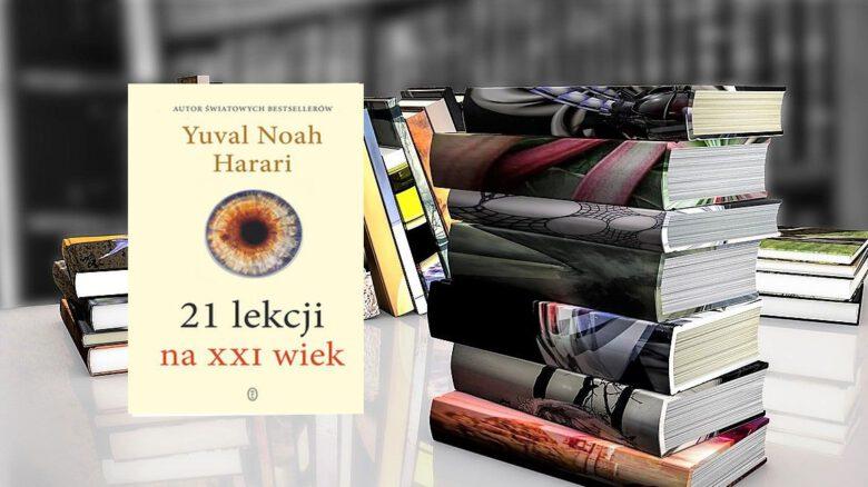 Harari 21 lekcji na XXI wiek_książka_okładka