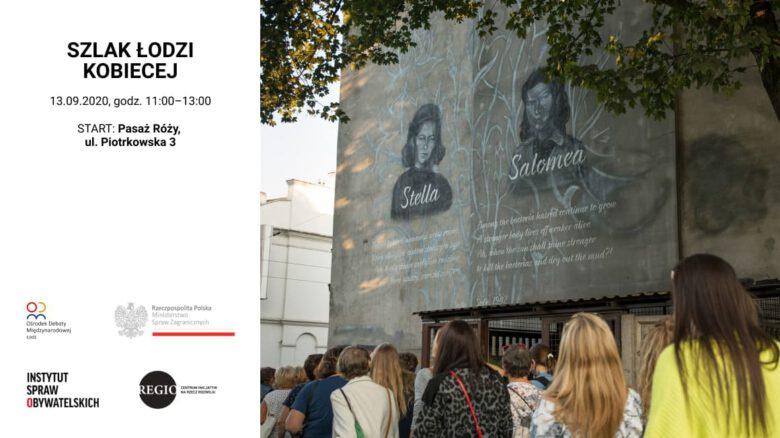 szlak Łodzi kobiecej_spacer RODM