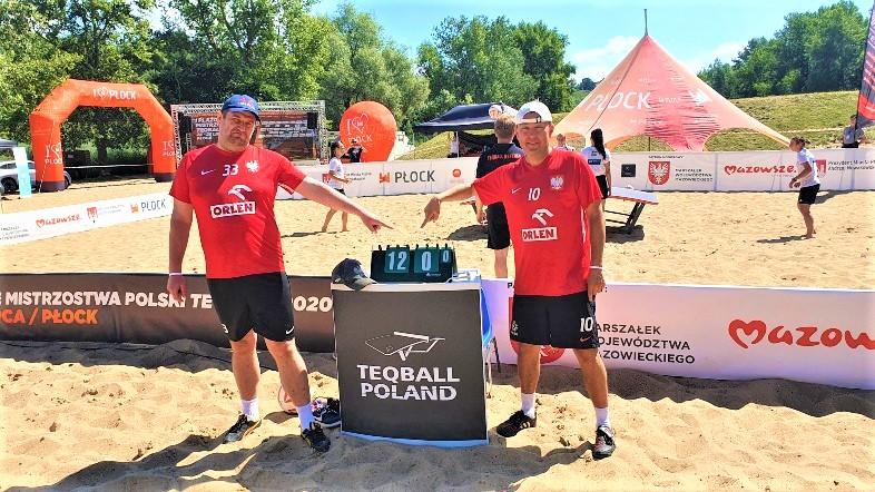 teqball - mistrzostwa Polski