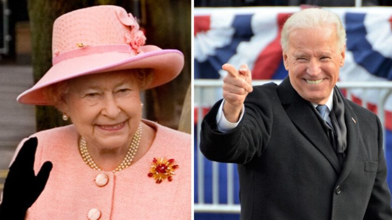Królowa Elżbieta II_Joe Biden