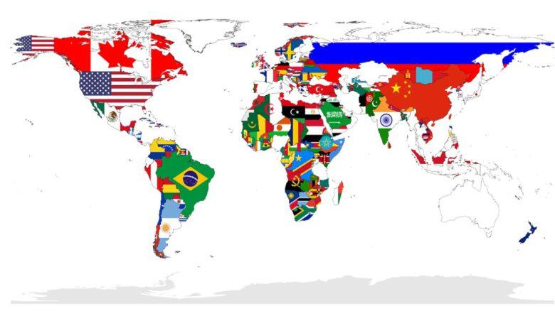 świat mapa