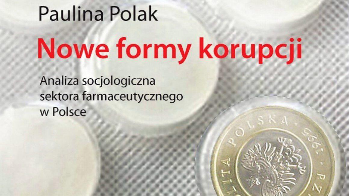 Nowe formy korupcji okładka