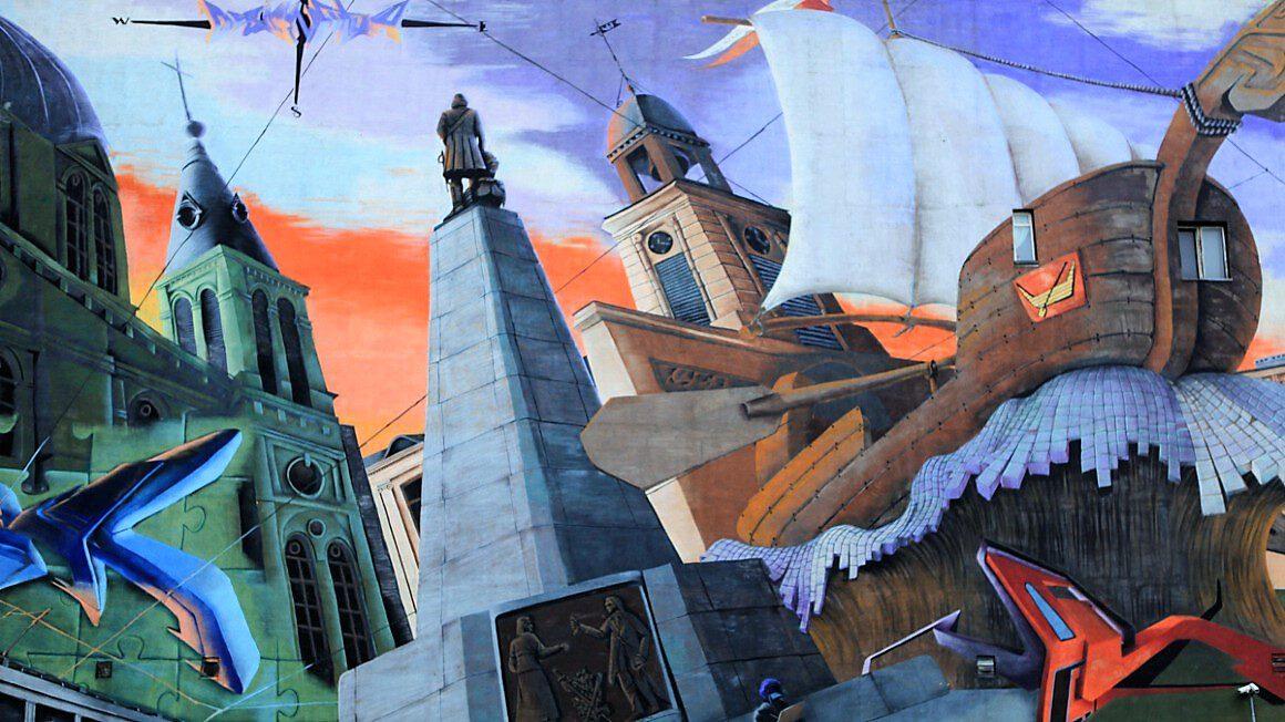 Łódź_mural
