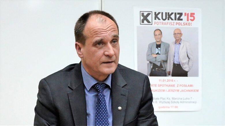 Pawel_Kukiz na spotkaniu w Bielsko-Biała
