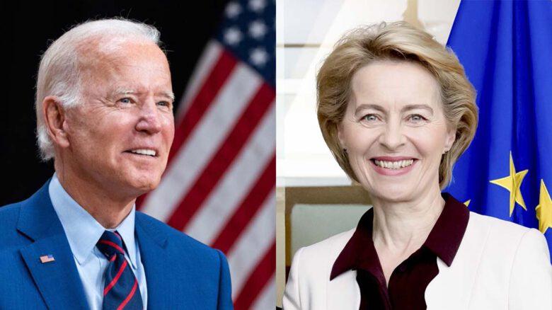 Joe Biden, Ursula von der Leyen