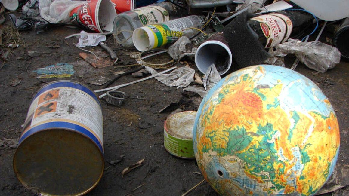 planeta śmieci