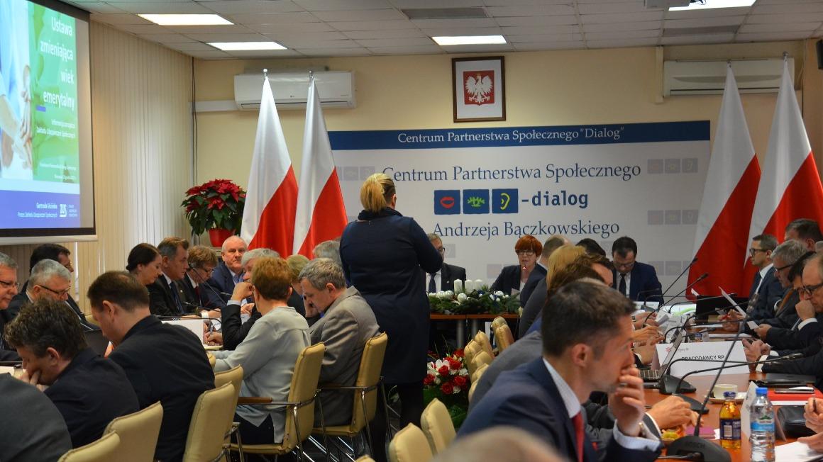 Rada Dialogu Społecznego, 2017