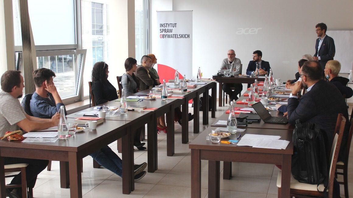 szkolenie Akademii Instytutu Spraw Obywatelskich