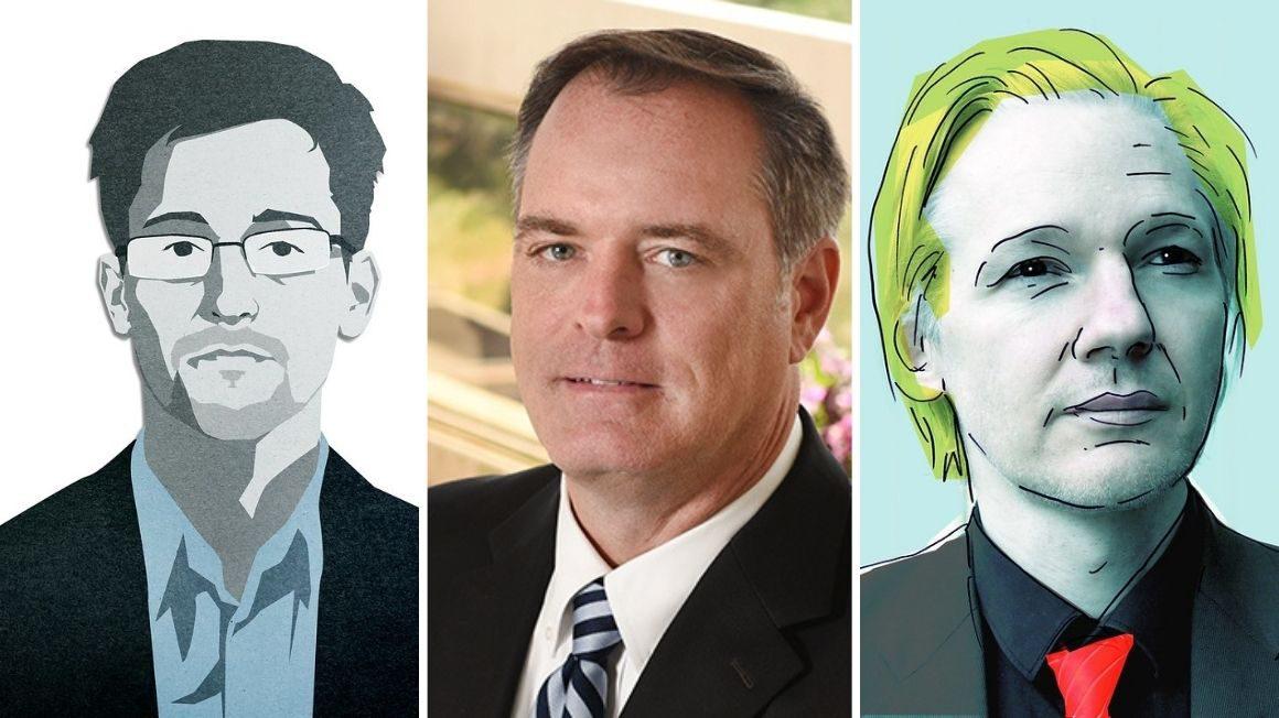 Sygnaliści: Edward Snowden, Rob Bilott, Julian Assange