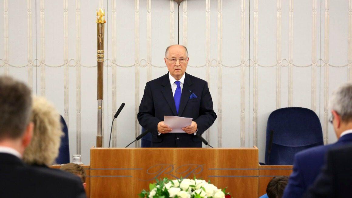 prof. Michał Seweryński, senator RP
